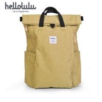 (Hellolulu)Hellolulu Tate Multifunctional Design Backpack-Mustard Yellow