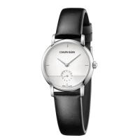 (calvin klein)Calvin Klein CK minimalist design small seconds belt watch (K9H2Y1C6) 32mm