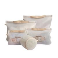 (BeOK)【BeOK】Portable Thickening Sorted Laundry Bag 5-Piece Beige