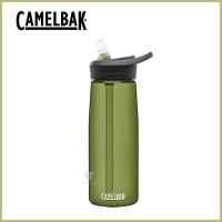 (CAMELBAK)CamelBak 750ml eddy+ multi-water straw water bottle olive green