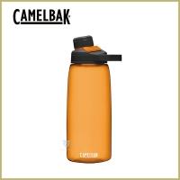 (CAMELBAK)CamelBak 1000ml Chute Mag Outdoor Sports Water Bottle Lava Orange