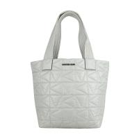 (MICHAEL KORS)MICHAEL KORS MK Nylon Shoulder Bag-Small/Gray