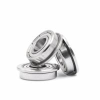 Bearing With Flange Miniature Deep Groove F608 Ball Bearing F8x22x7mm F608ZZ 3D Printer CNC milling machine pulleys