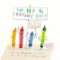 (HarperCollins)The Day The Crayons Quit 蠟筆大罷工(厚頁書)(外文書)