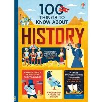 (Usborne Pub Ltd)100 Things To Know About History 知識書(外文書)