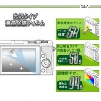 D&A OLYMPUS PEN-F/EM10 M2相機專用日本NEW AS玻璃奈米螢幕保護貼
