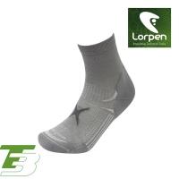 Lorpen T3 Coolmax健行短襪 T3LS(II) 淺灰