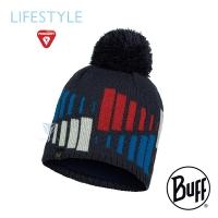 (BUFF)BUFF Lifestyle BFL123525 MITCH-Knitted warm fur ball cap dark night blue