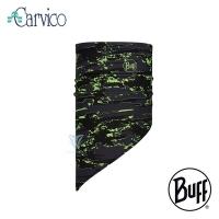 (buff)BUFF BF123670 Technological wind-resistant bristles triangle scarf-fluorescent black splash ink