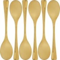 (Premier)Premier stainless steel snack spoon 6 pcs (gold)