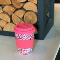 Ecoffee Cup環保隨行杯12oz(薔薇粉)