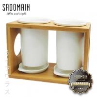 [TAITRA] White Porcelain Chopsticks Holder Set