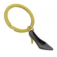 (MTM)MTM heels key ring - black