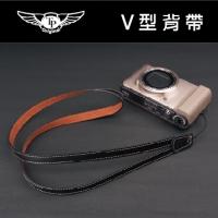 TP V型相機背帶-品味黑