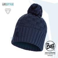 (BUFF)BUFF Lifestyle BFL111021 Knit Polar Warm Hair Ball Cap Denim Blue AIRON