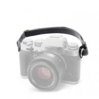 3I CURA- leather camera wrist strap -SHSL-100 (black)