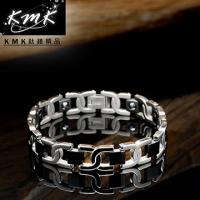 (KMK mark)KMK boutique [taste] Titanium Titanium + magnetic germanium health bracelets