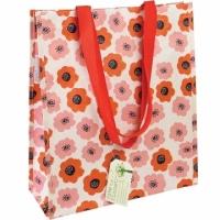 (Rex LONDON)Rex LONDON Eco Shopping Bag (Red Poppy)