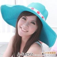 (A-Surpriz)A-Surpriz romantic beauty king sun hat (Aqua)