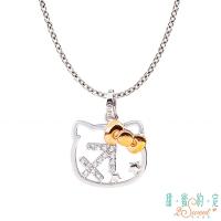 (2sweet)Sweet promise HelloKitty Sagittarius Kitty sterling silver pendant to send necklace