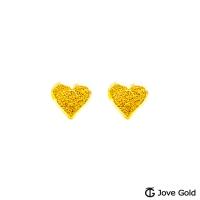 (Jove Gold)Jove Gold adorned gold earrings