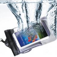 Ecomelife phone Universal static film sealing waterproof design (black)
