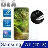 D & A Samsung Galaxy A7 (2018) 6 inches dedicated Japanese original film Screen Protector HC (mirror scratch)