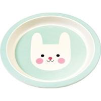 Rex LONDON 竹纖維餐盤(兔兔21cm)