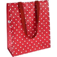 (Rex LONDON)Rex LONDON Reusable Shopping Bag (dotted red)
