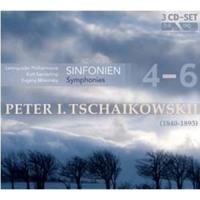 Tchaikovsky: The fourth, fifth, VI Symphony 3CD