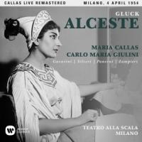 """2017 Callas scene engraved - Ge Luke: """"Alceste"""" 2CD"""