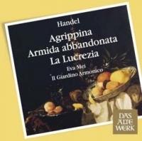 Handel: three soprano oratorio CD