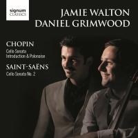 Saint-Saens, Chopin Cello Sonata CD
