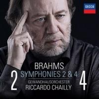 布拉姆斯:第2&4號交響曲 CD