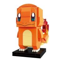(qmjm)QMAN Building Blocks Pok?mon Series Little Fire Dragon
