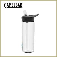 (CAMELBAK)[United States CamelBak] 600ml eddy+ multi-water straw water bottle crystal clear white