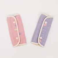 (MARURU)Five-layer yarn strap saliva towel-berry bubble MARURU [Special for sling/shoulder strap saliva towel/Cotton sling]