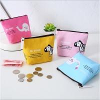 Korea cute animal park creative simple male and female student coin purse cartoon animal coin pack 2