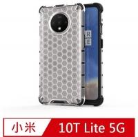 Mi 10T Lite 5G Shatter-resistant Transparent Honeycomb Mobile Phone Case Protective Case Cover