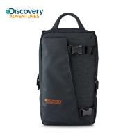 (discovery adventures)【Discovery Adventures】Big D side flap shoulder bag-black DA-B39306-BK