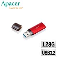 (apacer)Apacer Apacer AH25B 128GB Lightweight Metal USB 3.2 High Speed Flash Drive-Sunburst