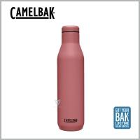 (CAMELBAK)CamelBak CB2518601075 750ml Wine Bottle Stainless Steel Wine Bottle (Ice Preservation)-Rose Orange