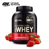 《美國歐恩-奧普特蒙》ON金牌黃金比例乳清蛋白5磅(草莓口味)
