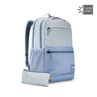 (Case Logic)Case Logic-CAMPUS 26L Laptop Backpack CCAM-3116-Straight Stripes/Light Blue