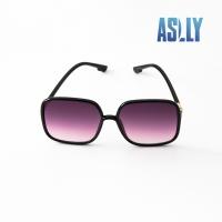 (aslly)[ASLLY] Retro big frame gradient sunglasses/sunglasses