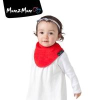 Mum 2 Mum 機能型神奇三角口水巾圍兜-紅