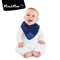 Mum 2 Mum 機能型神奇三角口水巾咬咬兜-深藍