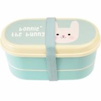 (Rex LONDON)Rex LONDON tableware + double-layer children's lunch box (tutu)