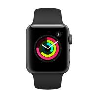 Apple Watch Series 3 Sport 42mm運動型錶帶 黑色