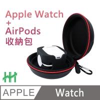 Apple Watch + AirPods 旅行收納盒(黑色)